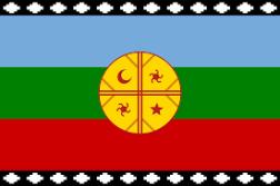 Mapuche Flagge